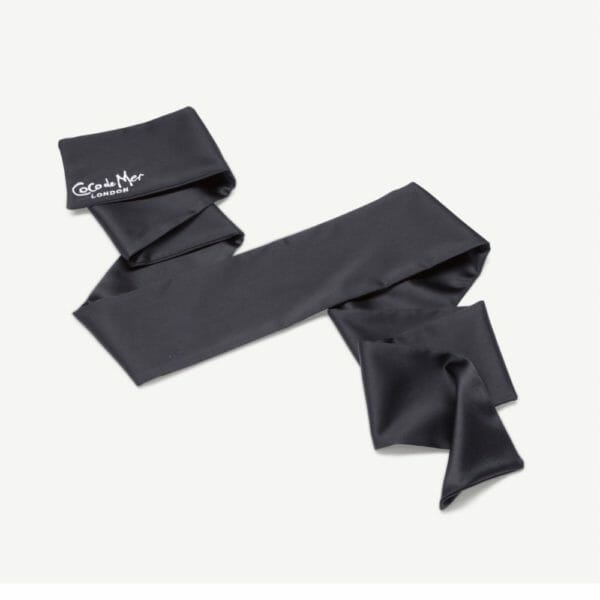 Silk blindfold